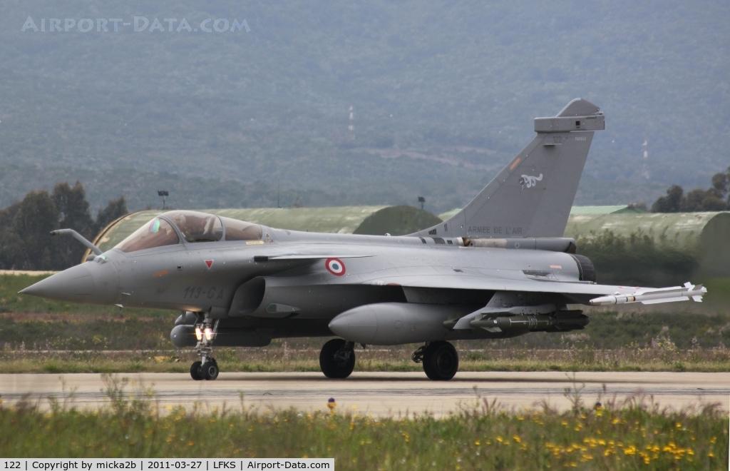 122, Dassault Rafale C C/N 122, Taxiing