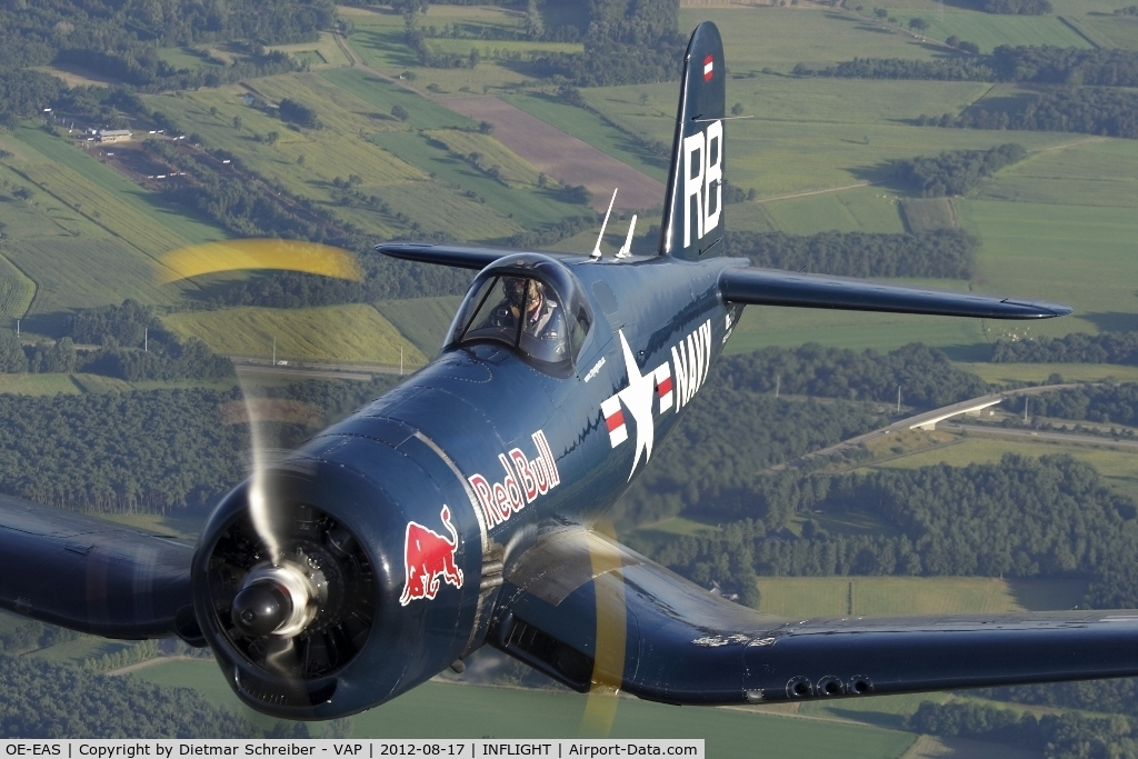 OE-EAS, 1945 Vought F4U-4 Corsair C/N 9149, Flying Bulls Corsair