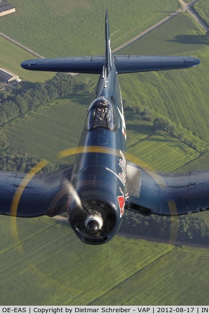OE-EAS, 1945 Vought F4U-4 Corsair C/N 9149, Flying Bulls Corsair
