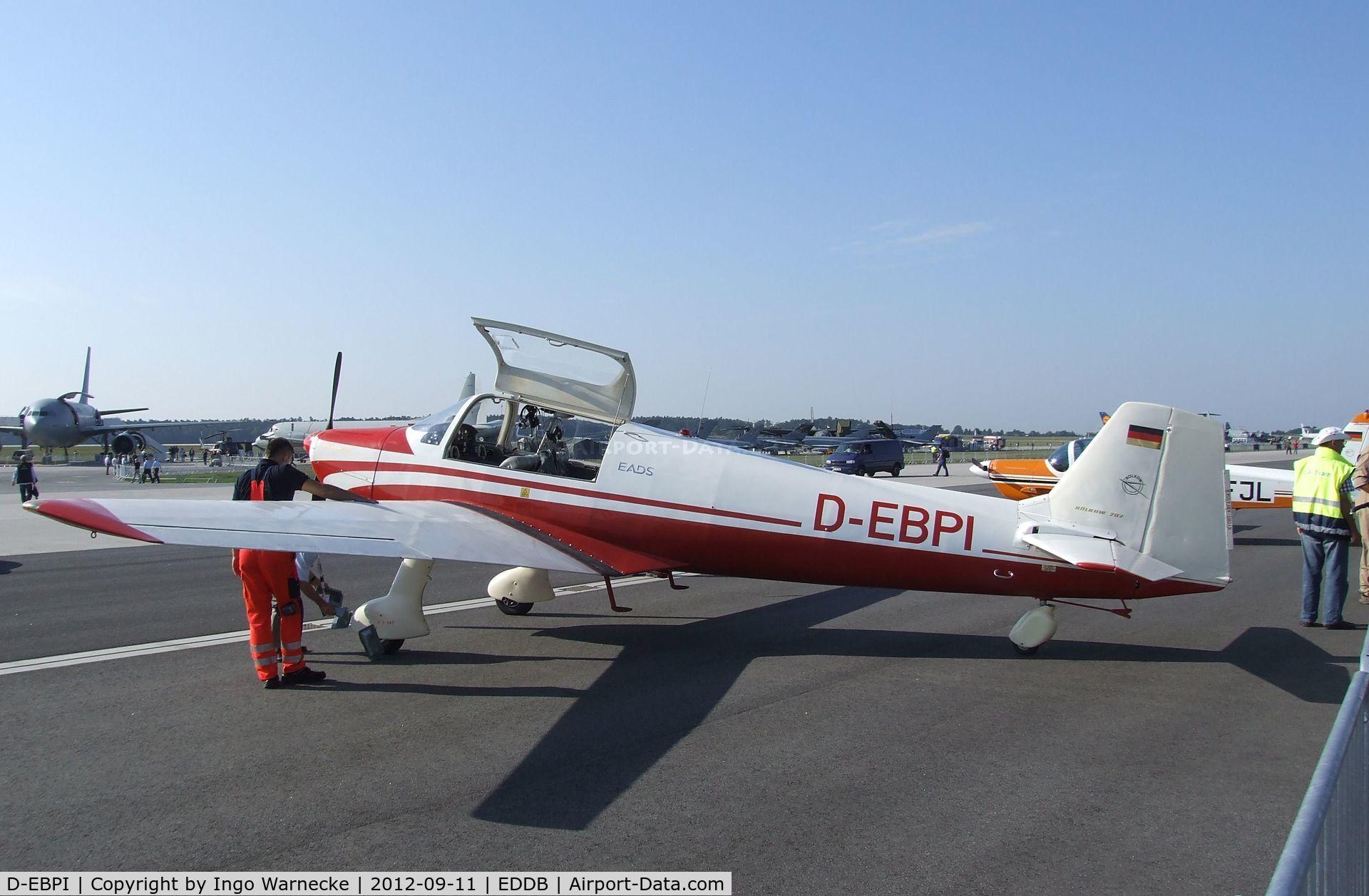 D-EBPI, 1962 Bolkow Bo-207 C/N 237, Bölkow Bo 207 at ILA 2012, Berlin