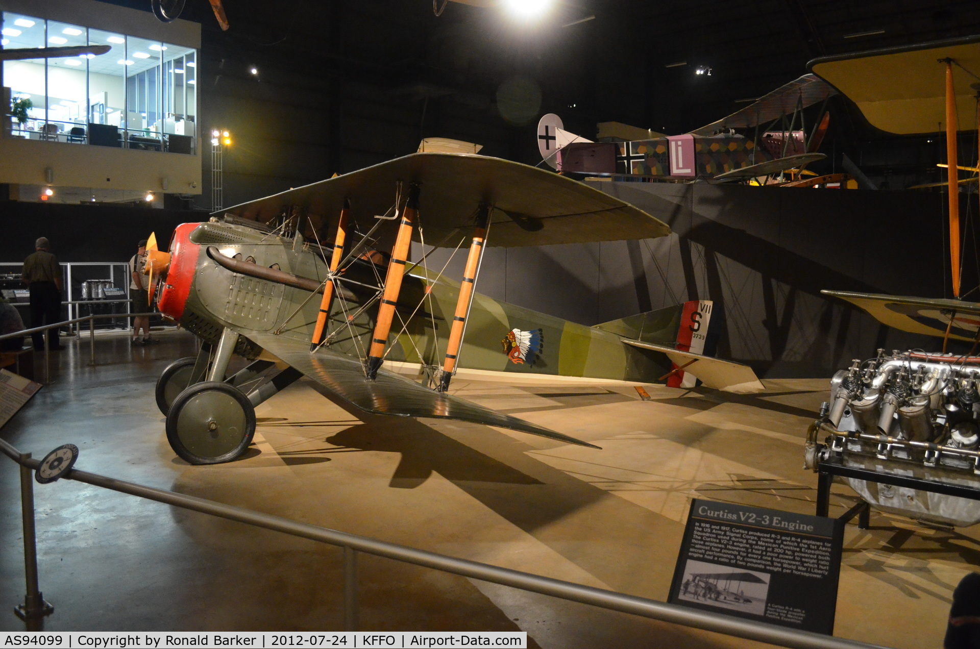 AS94099, SPAD S-VII C/N Not found AS94099, SPAD VII  3730