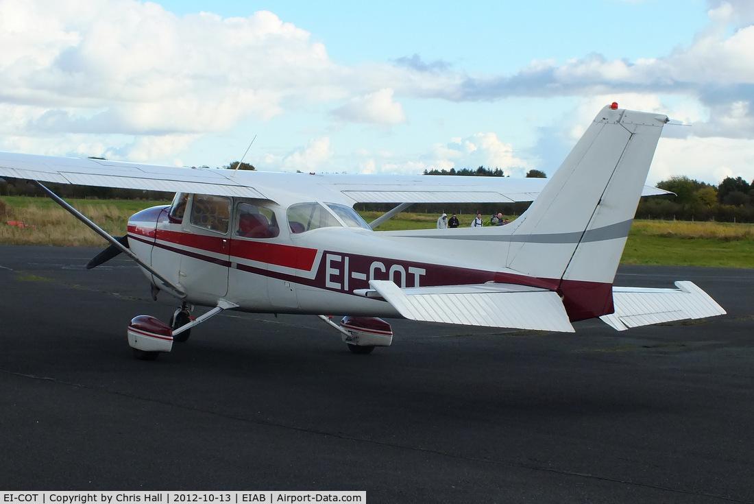 EI-COT, Reims F172N Skyhawk C/N 1884, at Abbeyshrule Airport, Ireland