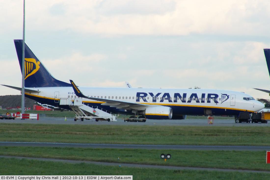 EI-EVM, 2012 Boeing 737-8AS C/N 40296, Ryanair