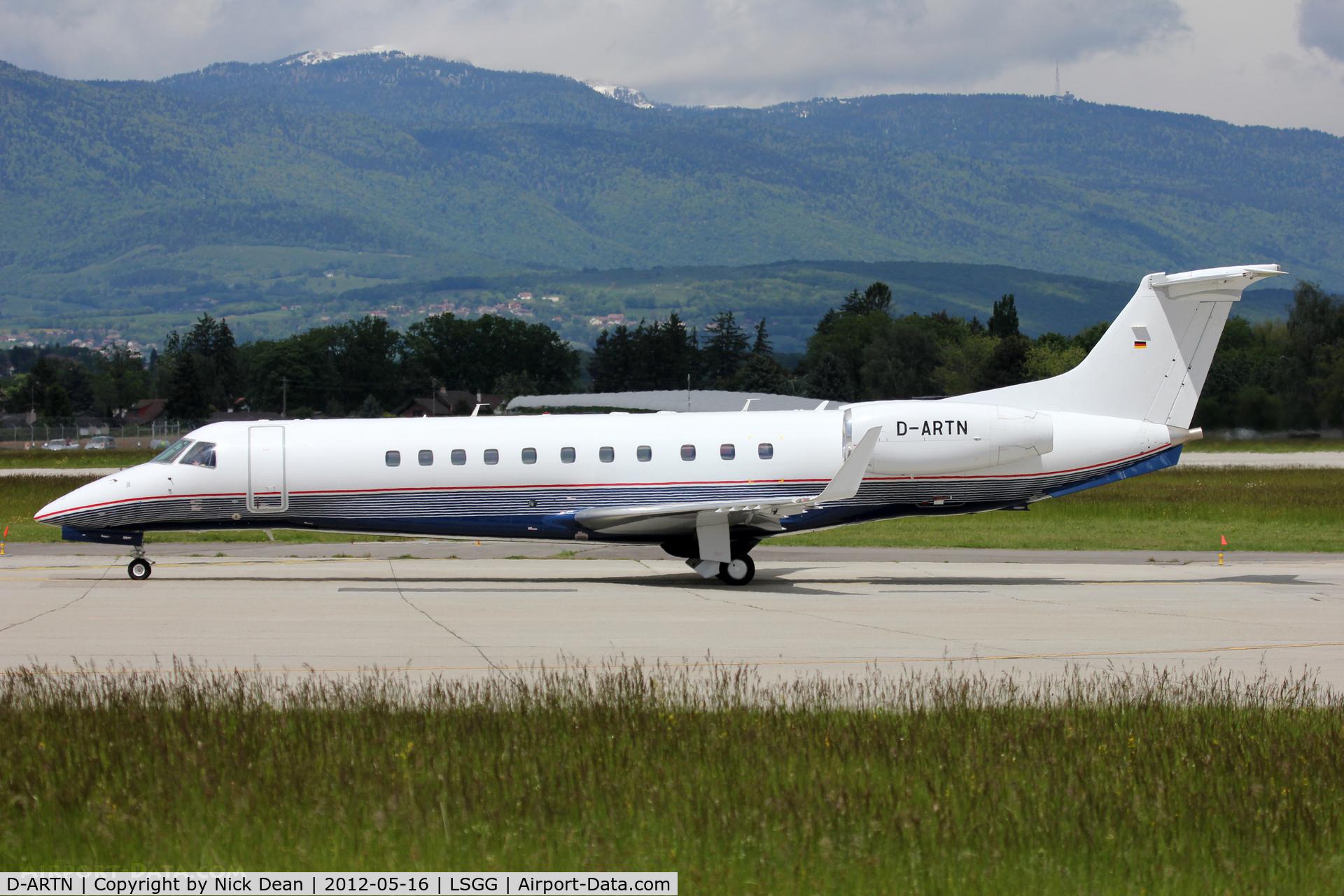 D-ARTN, Embraer EMB-135BJ Legacy C/N 14500941, LSGG/GVA EBACE 2012