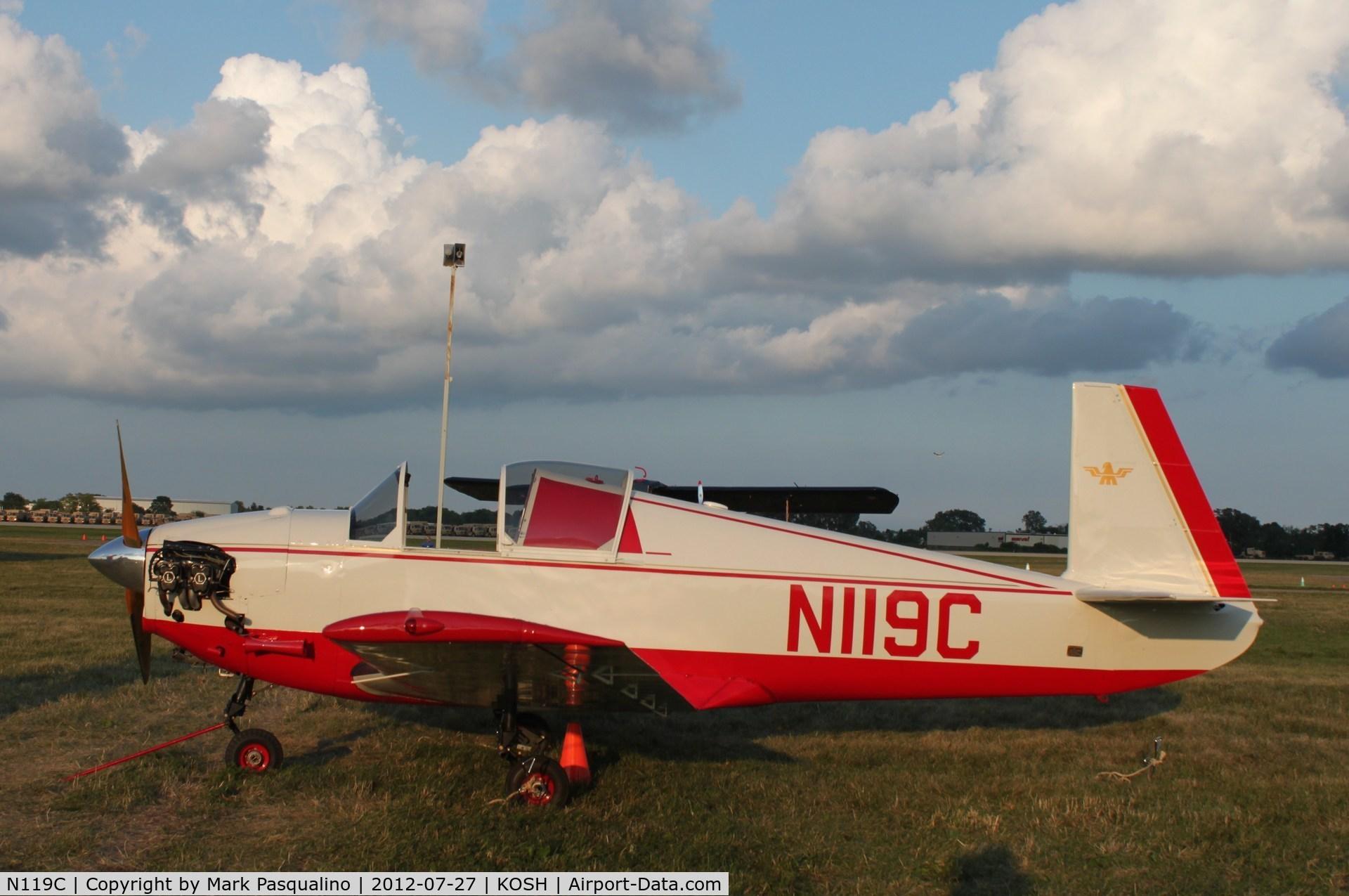 N119C, 1949 Mooney M-18L C/N 51, Mooney M-18L