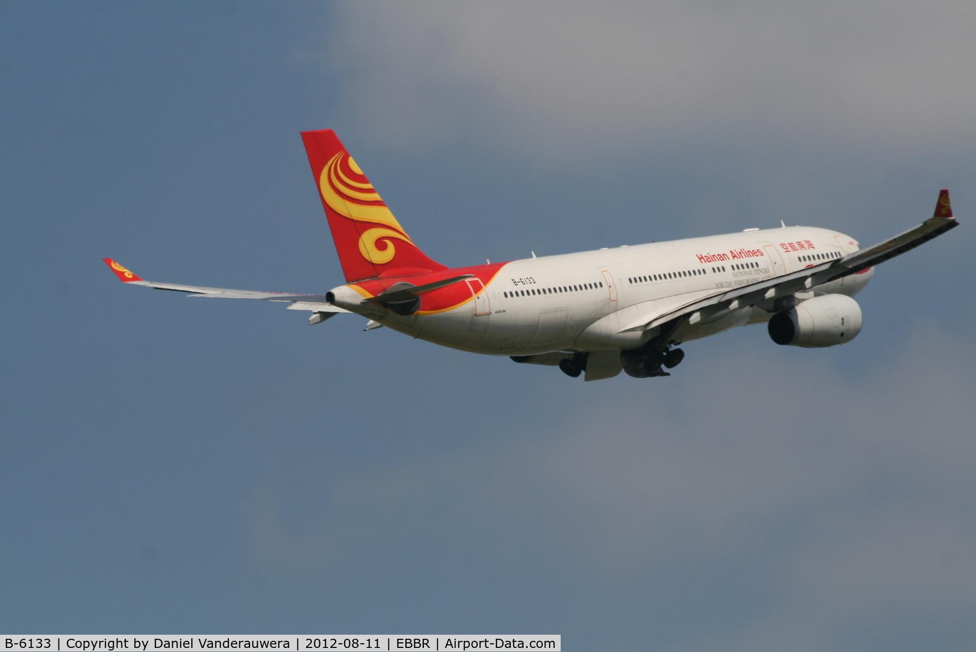 B-6133, 2009 Airbus A330-243 C/N 982, Flight HU492 is flying back to Beijing