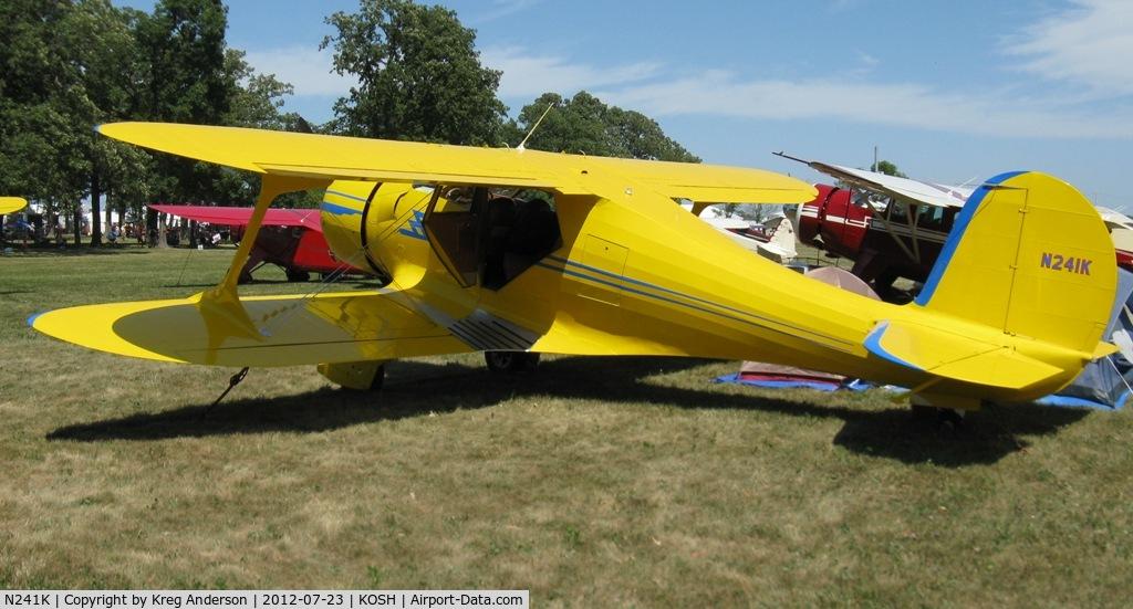 N241K, 1939 Beech D17S Staggerwing C/N 287, EAA AirVenture 2012