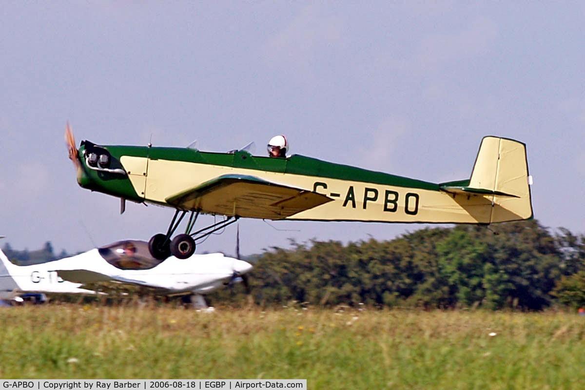 G-APBO, 1960 Druine D-5 Turbi C/N PFA 229, Druine D.53 Turbi [PFA 229] Kemble~G 18/08/2006