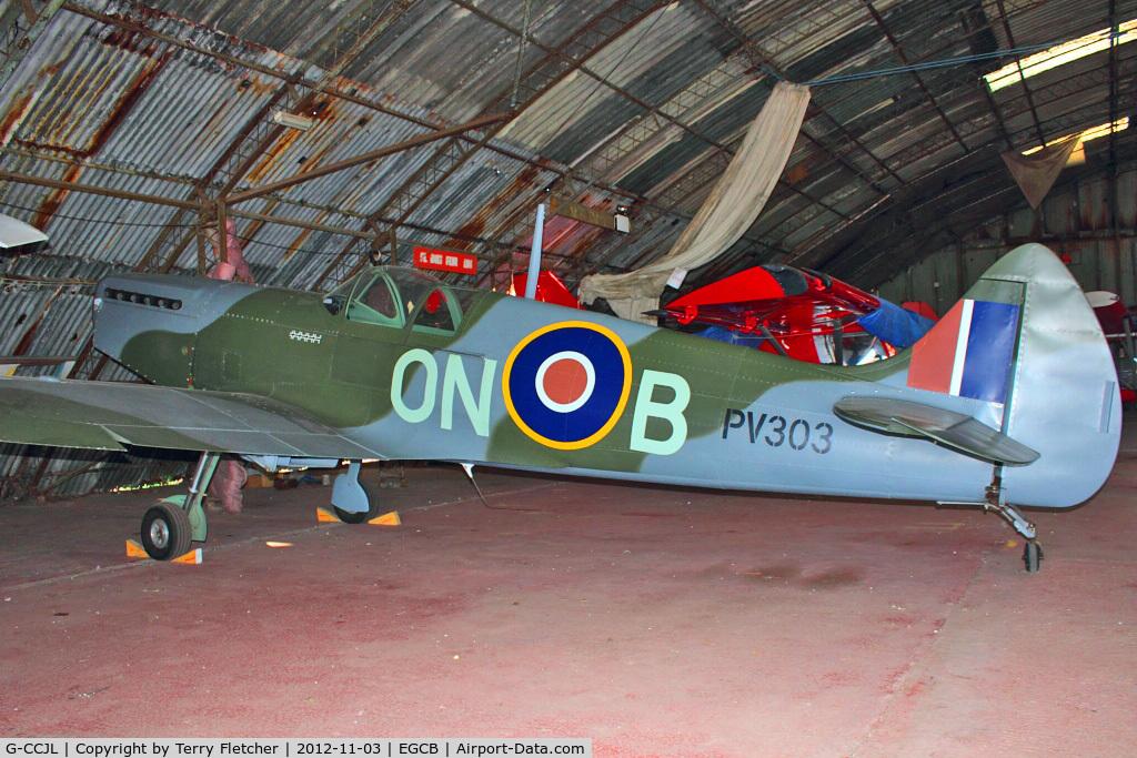 G-CCJL, 2007 Supermarine Aircraft Spitfire Mk.26 C/N PFA 324-14053, 2007 Supermarine Aircraft Spitfire Mk.26, c/n: PFA 324-14053