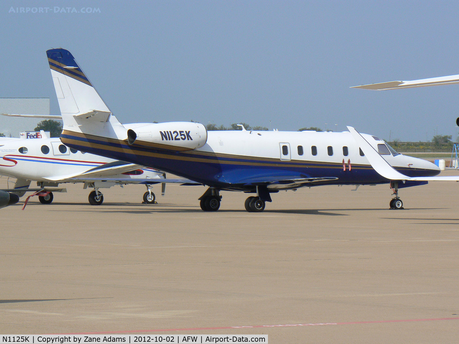 N1125K, 1986 Israel Aircraft Industries 1125 Westwind Astra C/N 035, At Alliance Airport - Fort Worth, TX