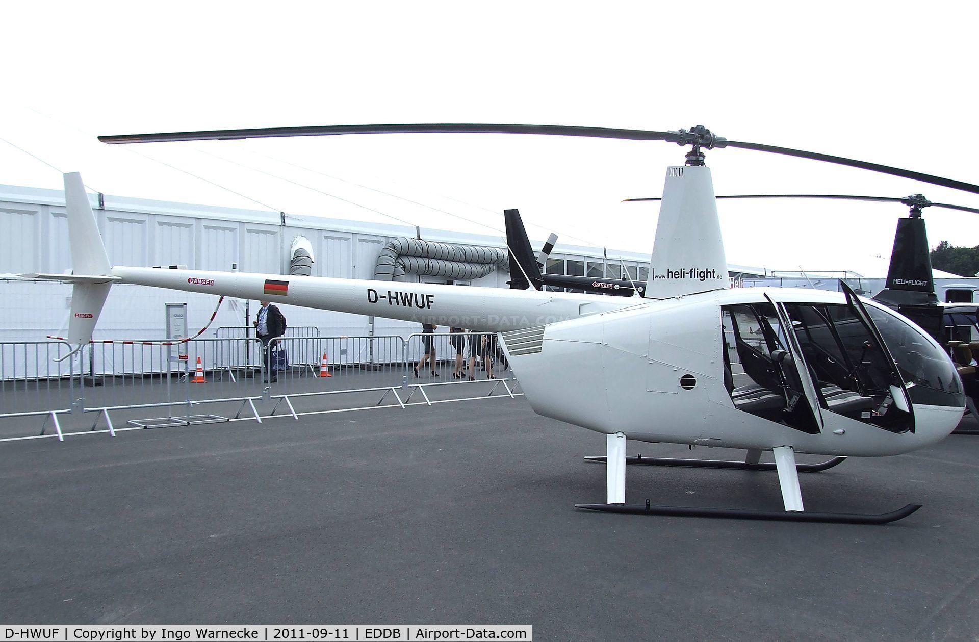Aircraft D-HWUF (2012 Robinson R44 Raven I C/N 2220) Photo