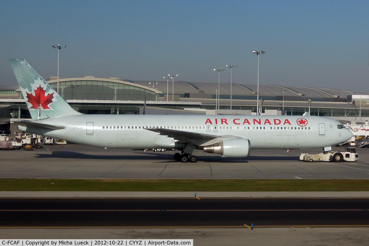 C-FCAF, 1988 Boeing 767-375 C/N 24084, At Pearson International