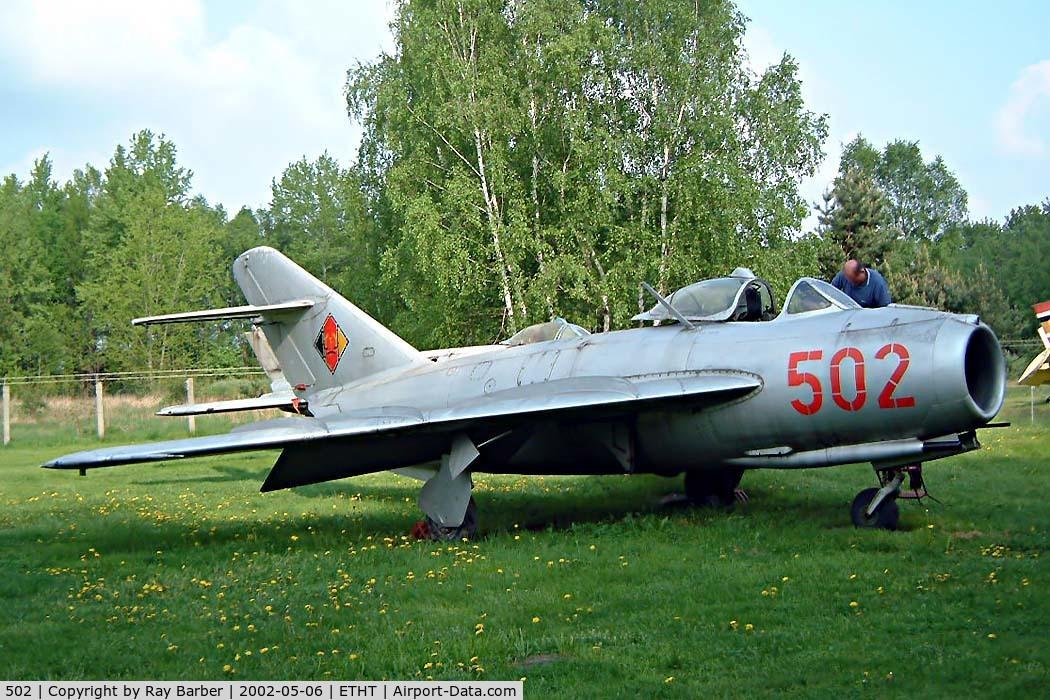 502, PZL-Mielec Lim-5 (MiG-17F) C/N 1C0902, Mikoyan-Gurevich Lim-5 [1C-09-02] Cottbus~D 06/05/2002