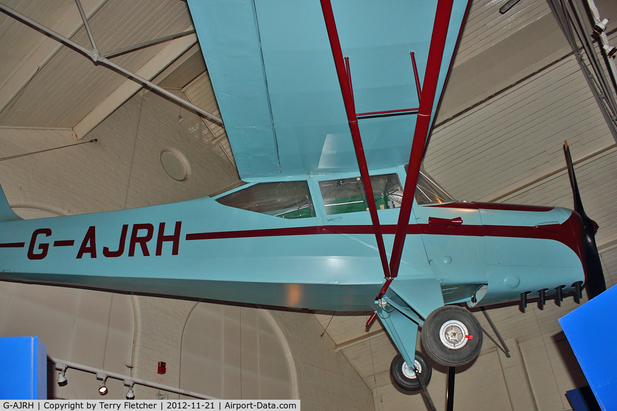 G-AJRH, 1947 Auster J-1N Alpha C/N 2606, 1947 Auster J-1N, c/n: 2606 at Charnwood Museum , Loughborough