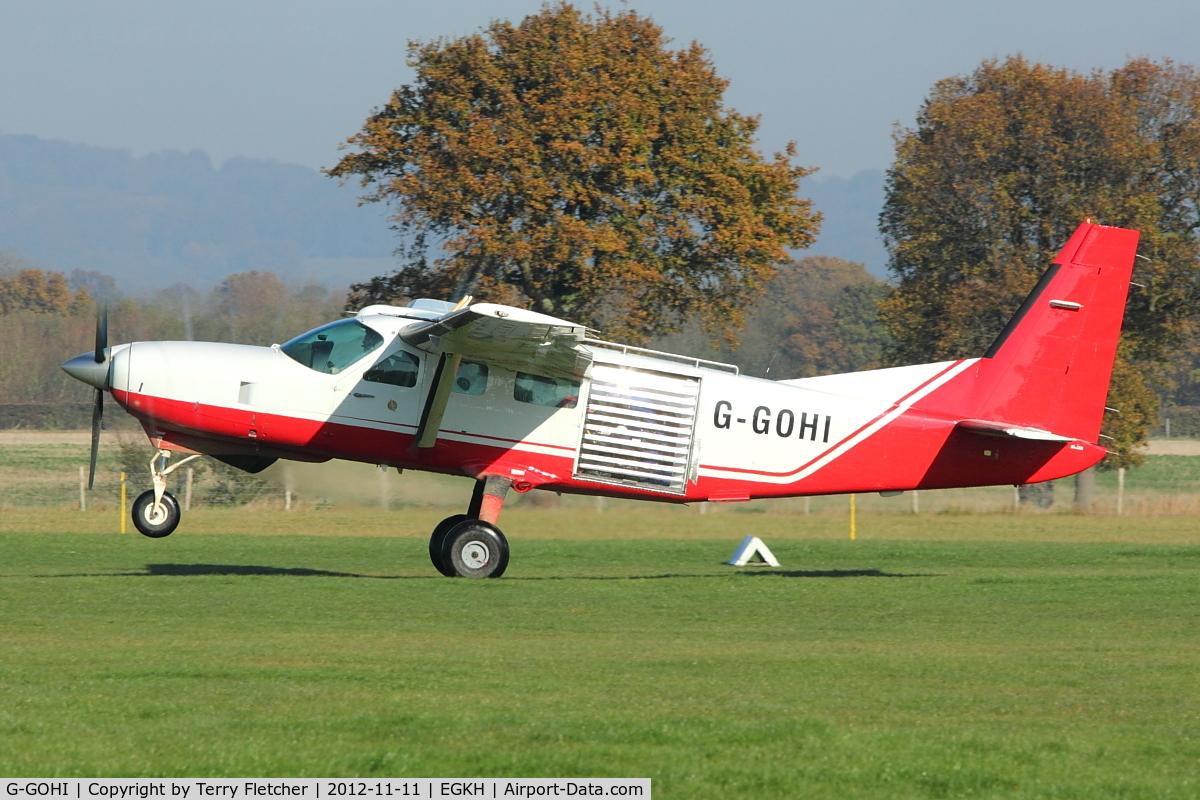 Aircraft G-GOHI (1985 Cessna 208 Caravan I C/N 20800040