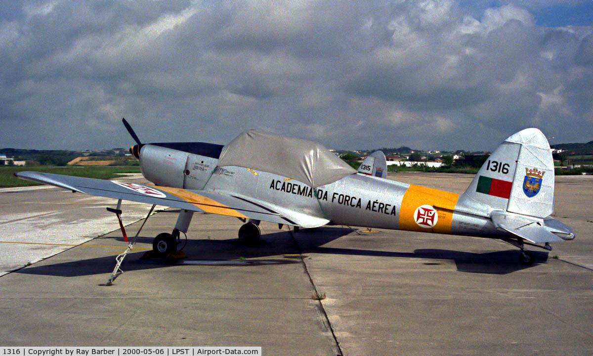 1316, 1955 OGMA DHC-1 Chipmunk T.20 C/N OGMA-06, OGMA DHC.1 Chipmunk T.20 [OGMA-06] Sintra-Lisbon~CS 06/05/2000