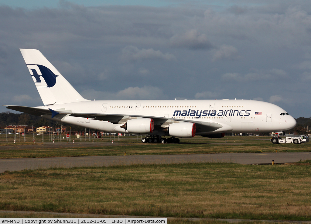 9M-MND, 2012 Airbus A380-841 C/N 089, Ready for delivery...