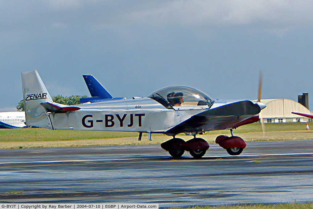 G-BYJT, 1999 Zenair CH-601HD C/N PFA 162-13130, Zenair CH.601HD Zodiac [PFA 162-13130] Kemble~G 10/07/2004
