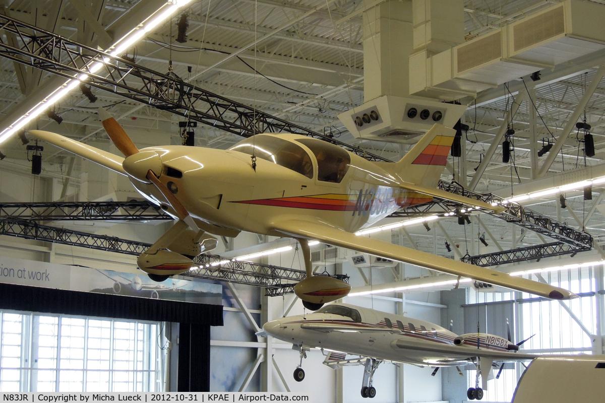 N83JR, Stoddard-Hamilton Glasair I TG C/N 364, At the Future of Flight in Everett