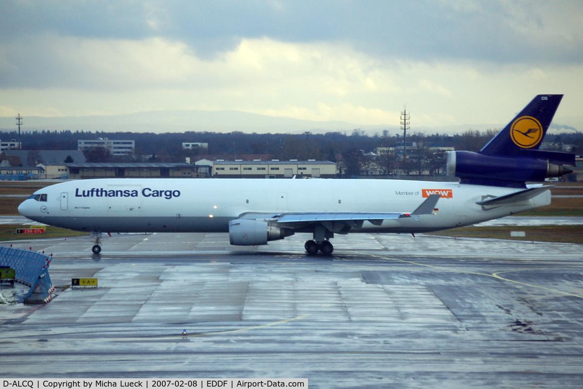 D-ALCQ, 1993 McDonnell Douglas MD-11F C/N 48431, At Frankfurt