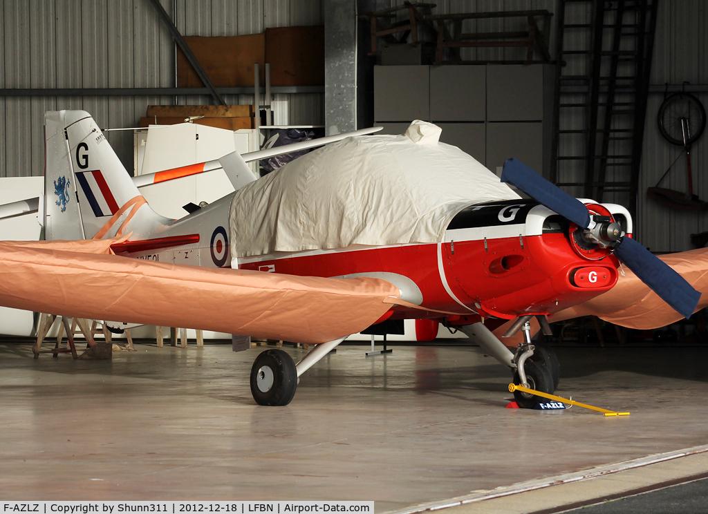 F-AZLZ, 1973 Scottish Aviation Bulldog T.1 C/N BH.120/217, Hangared...
