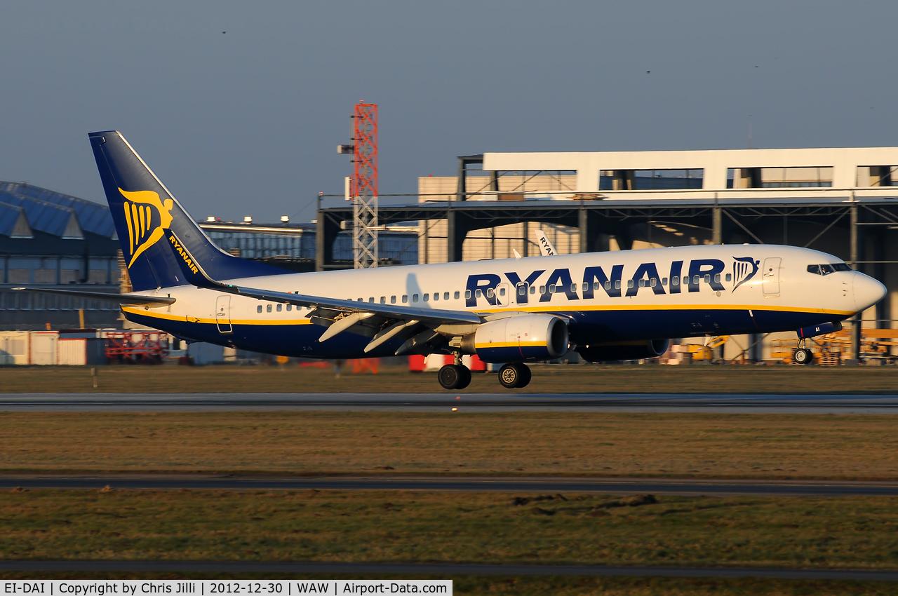 EI-DAI, 2003 Boeing 737-8AS C/N 33547, Ryanair