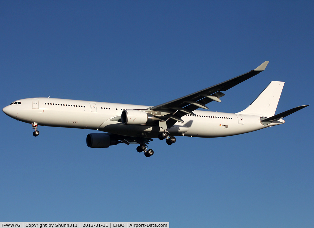 F-WWYG, 2012 Airbus A330-302 C/N 1377, C/n 1377 - For Iberia as EC-LUB