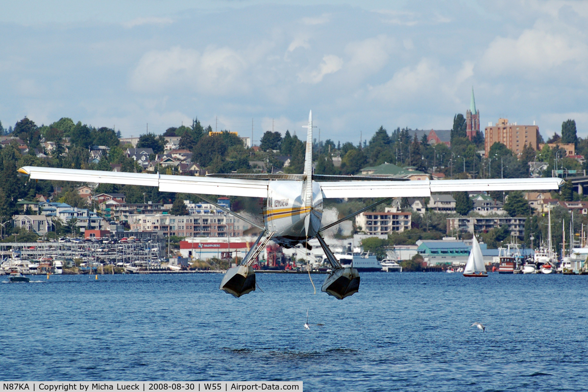 N87KA, 1953 De Havilland Canada DHC-3 Otter C/N 11, At Lake Union