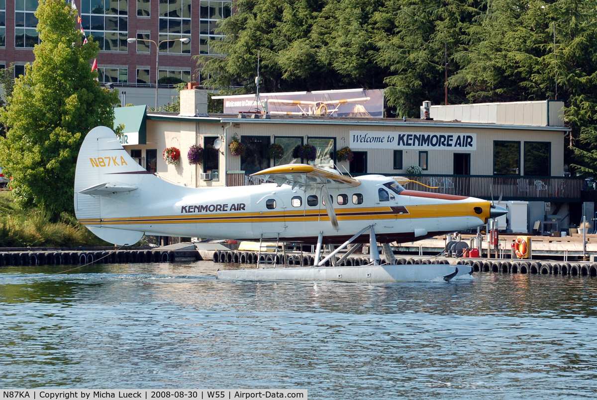 N87KA, 1953 De Havilland Canada DHC-3 Otter C/N 11, At Lake Union