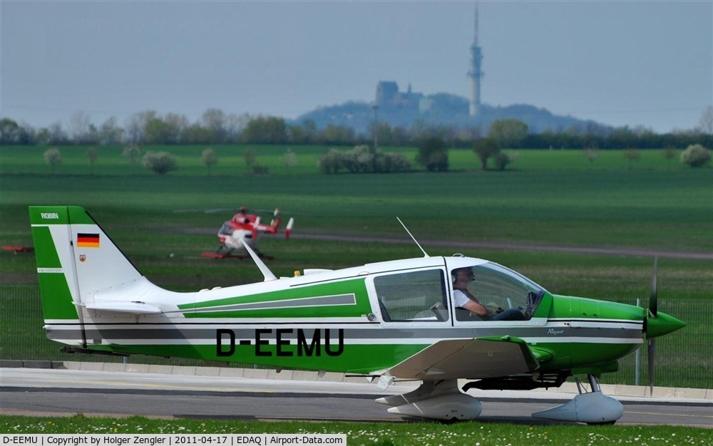 D-EEMU, Robin DR-400-140B Major C/N 1037, What a beauty in green!