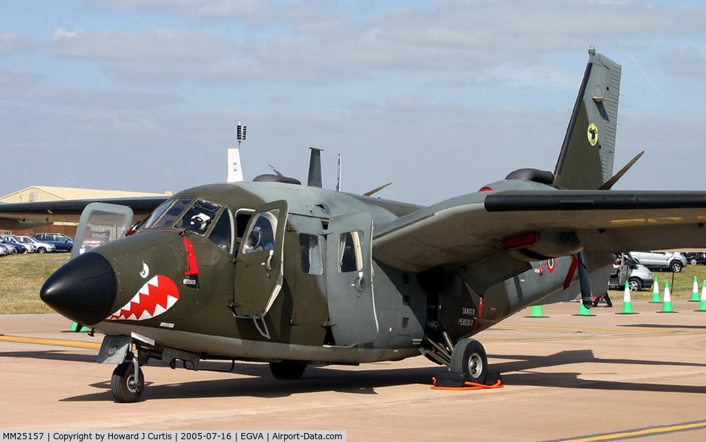 MM25157, Piaggio P-166DL-3 C/N 476, At the Royal International Air Tattoo.