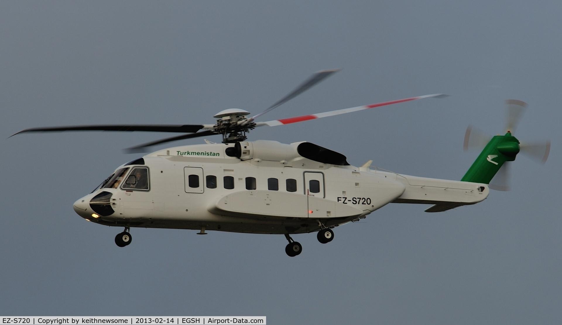 EZ-S720, 2005 Sikorsky S-92A C/N 920017, Nice Valentines Day visit !