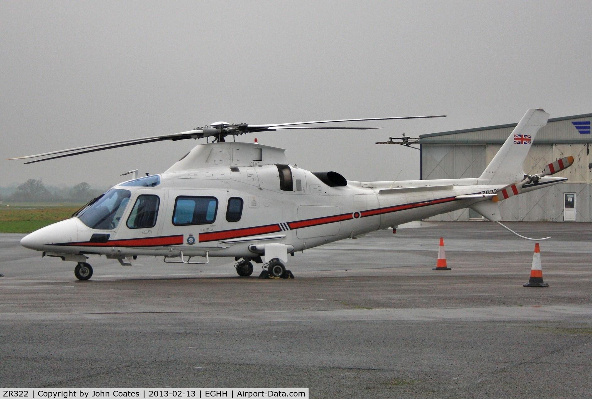 ZR322, 2006 Agusta A-109E Power C/N 11664, Parked at Sigs