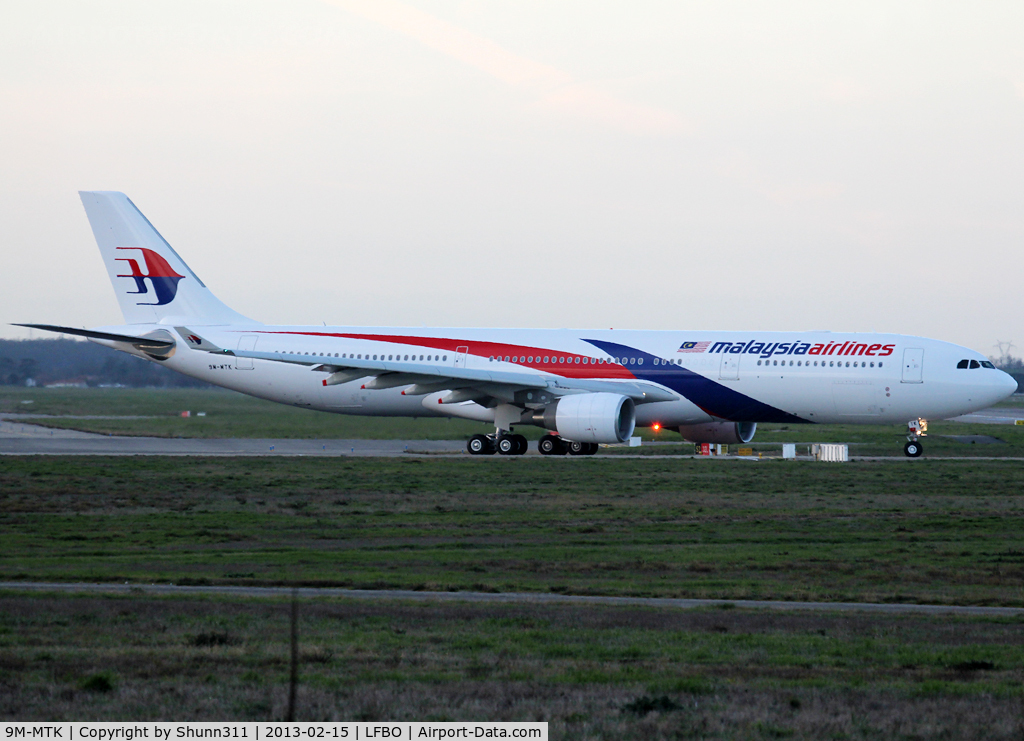 9M-MTK, 2013 Airbus A330-323X C/N 1388, Delivery day...