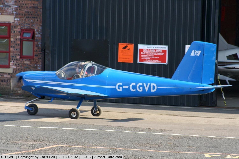 G-CGVD, 2011 Vans RV-12 C/N LAA 363-15005, Barton resident