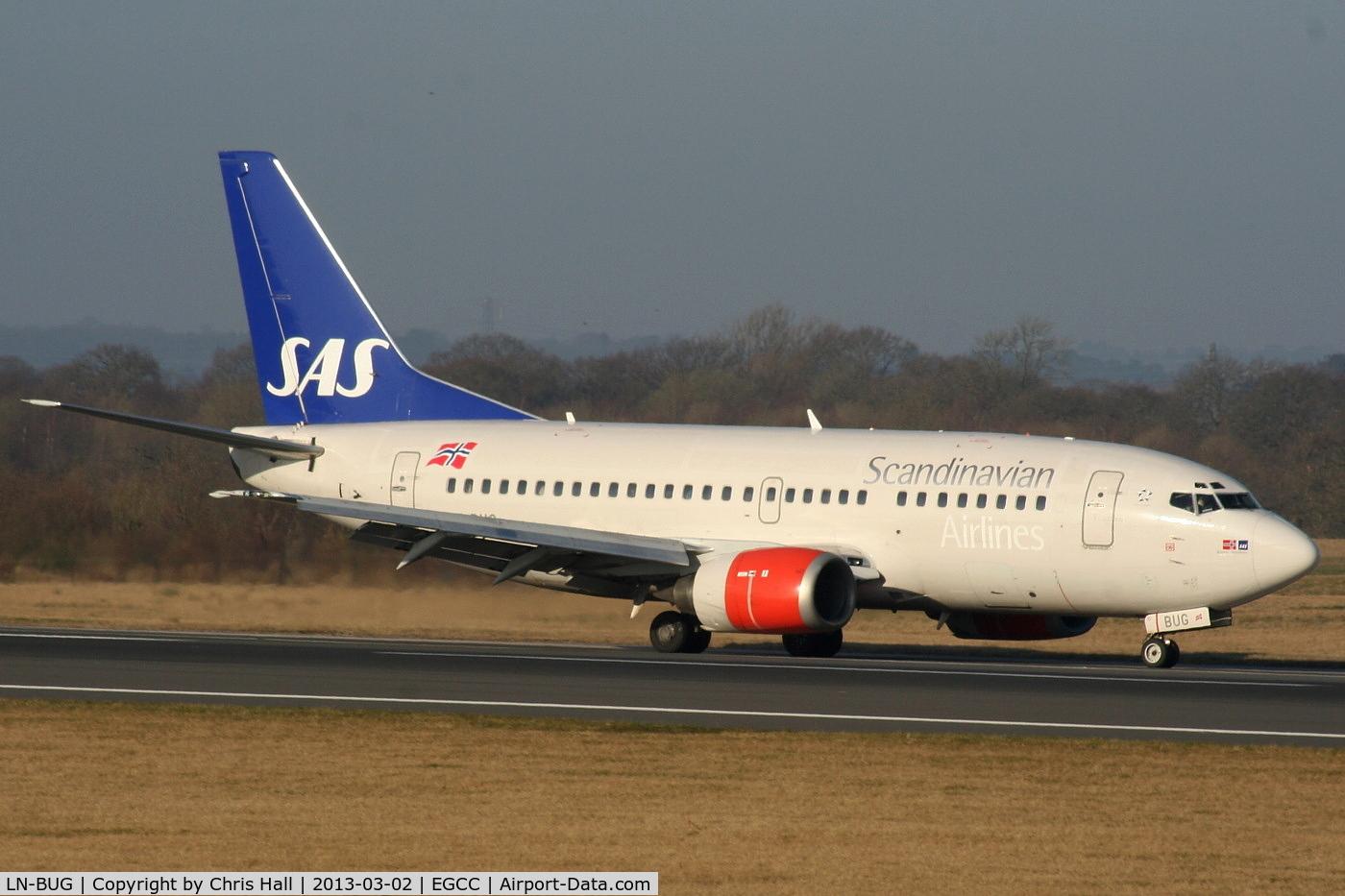 LN-BUG, 1997 Boeing 737-505 C/N 27631, SAS Scandinavian Airlines