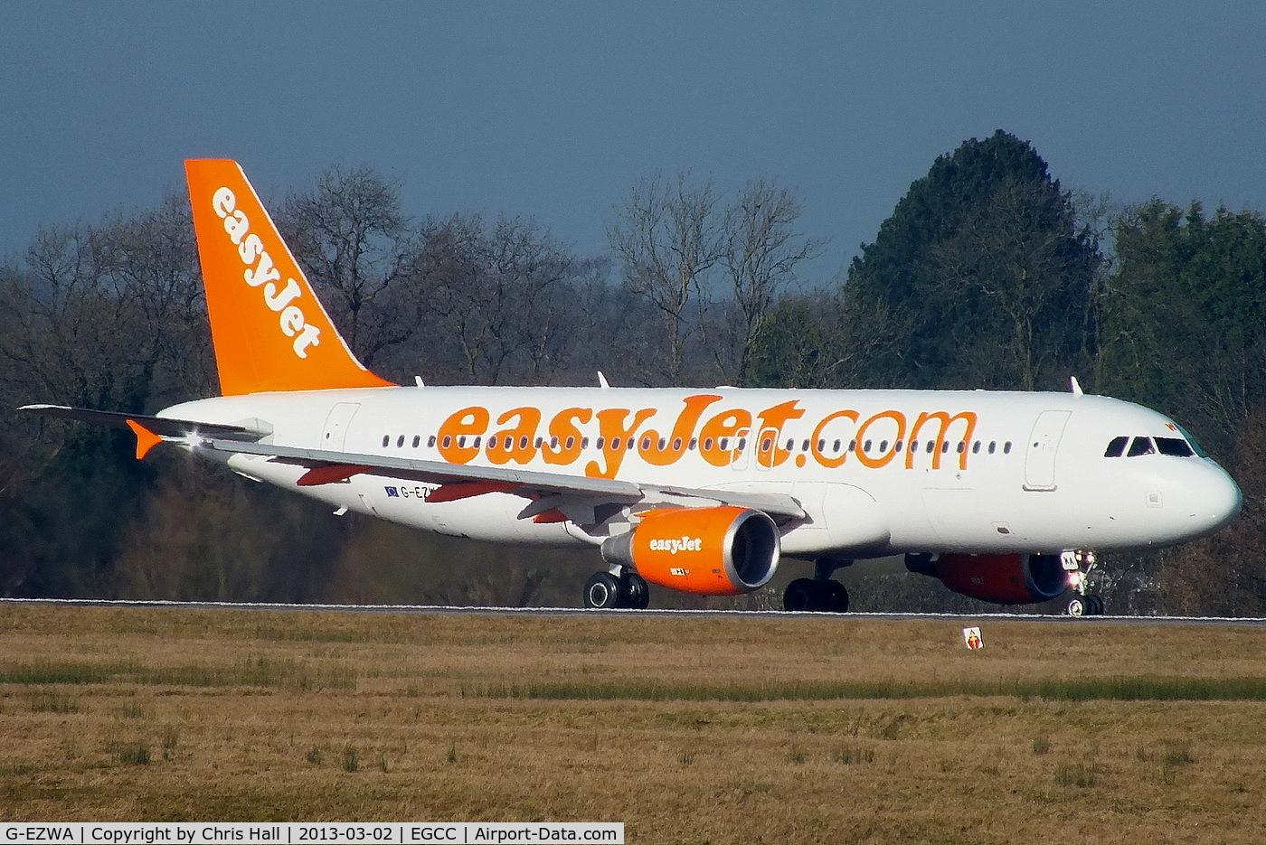 G-EZWA, 2012 Airbus A320-214 C/N 5201, easyJet