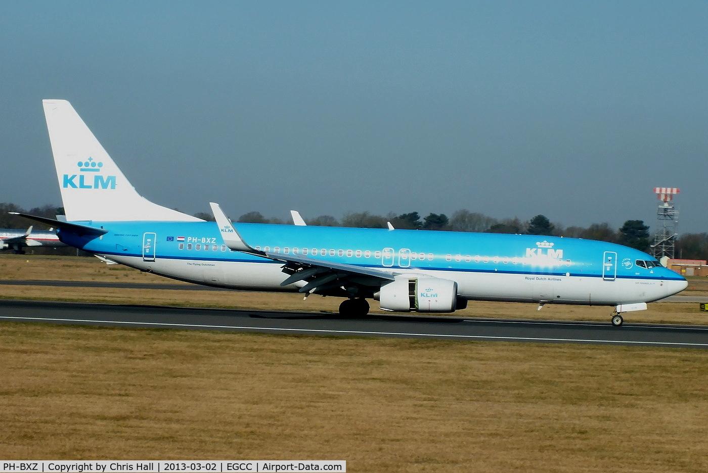 PH-BXZ, 2008 Boeing 737-8K2 C/N 30368, KLM Royal Dutch Airlines