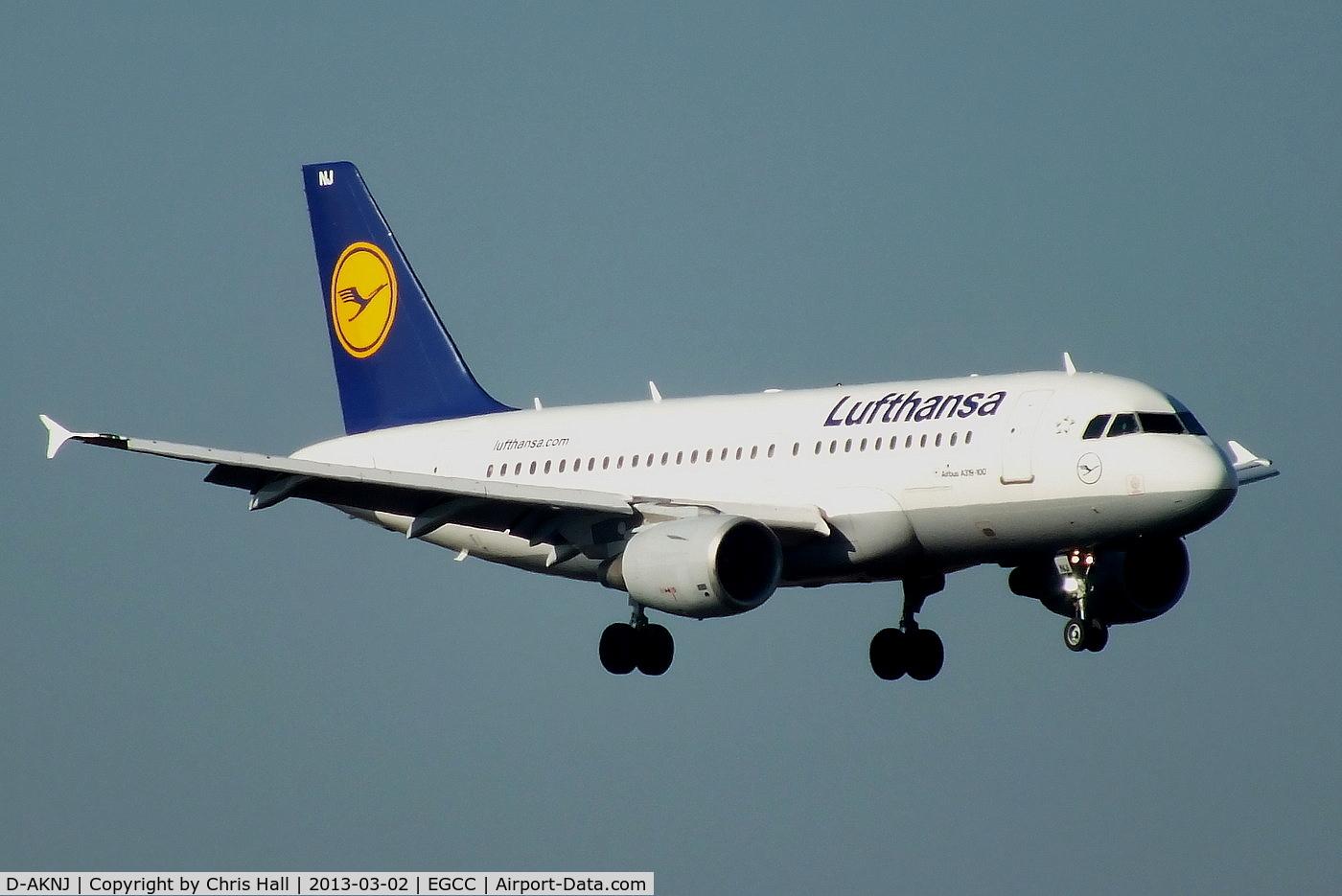 D-AKNJ, 2000 Airbus A319-112 C/N 1172, Lufthansa