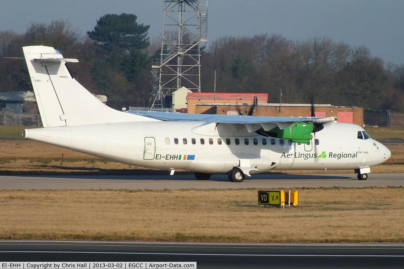 EI-EHH, 1990 ATR 42-300 C/N 196, now wearing Aer Lingus Regional titles