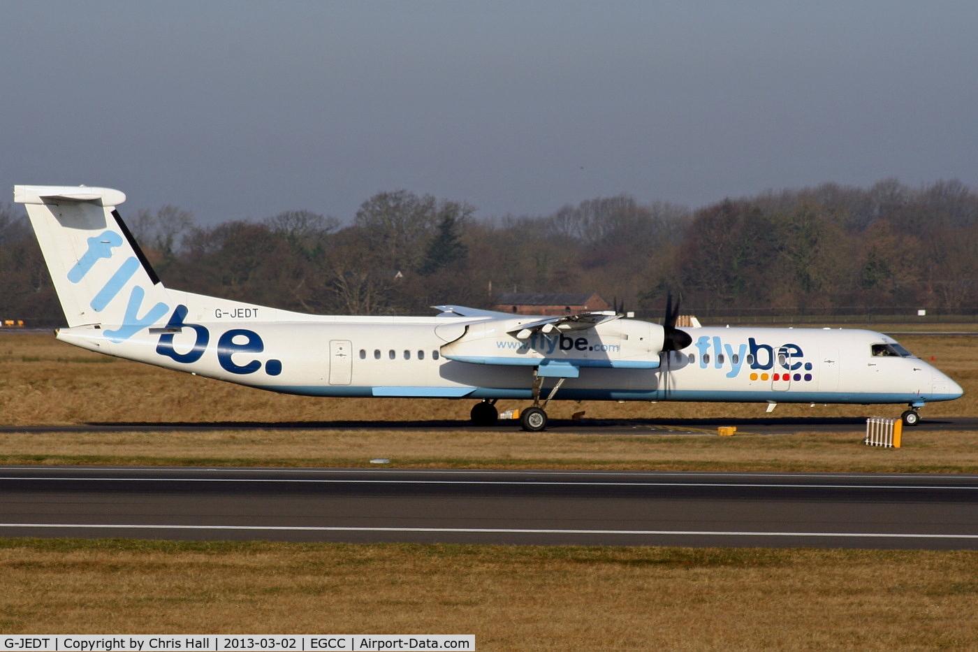 G-JEDT, 2003 De Havilland Canada DHC-8-402Q Dash 8 C/N 4088, flybe