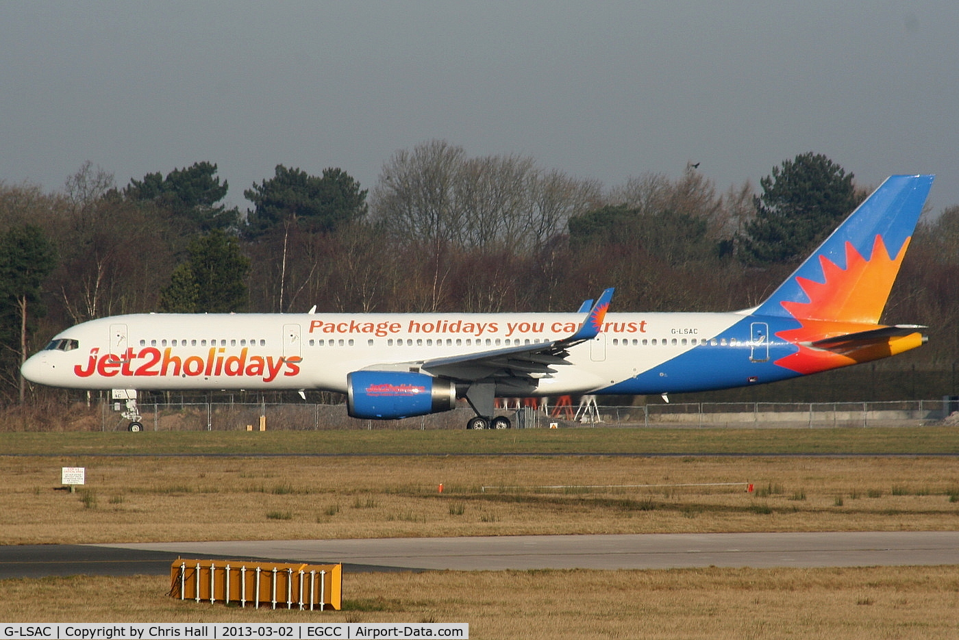G-LSAC, 1992 Boeing 757-23A C/N 25488, jet2 Holidays
