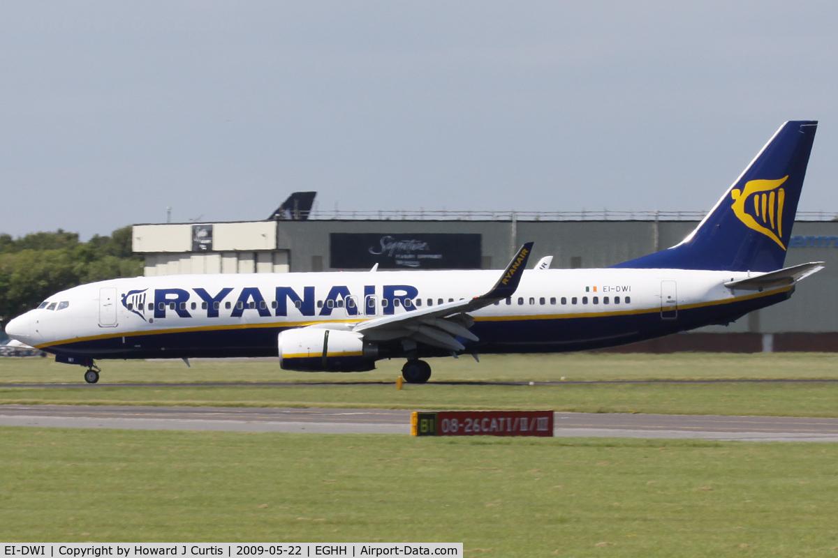 EI-DWI, 2007 Boeing 737-8AS C/N 33643, Ryanair