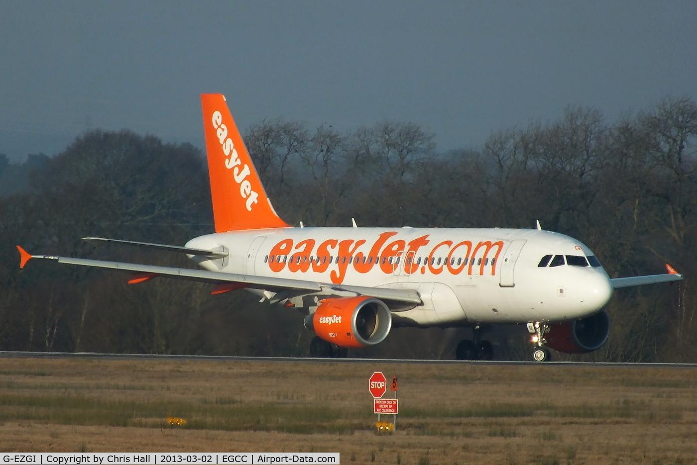 G-EZGI, 2011 Airbus A319-111 C/N 4693, easyJet