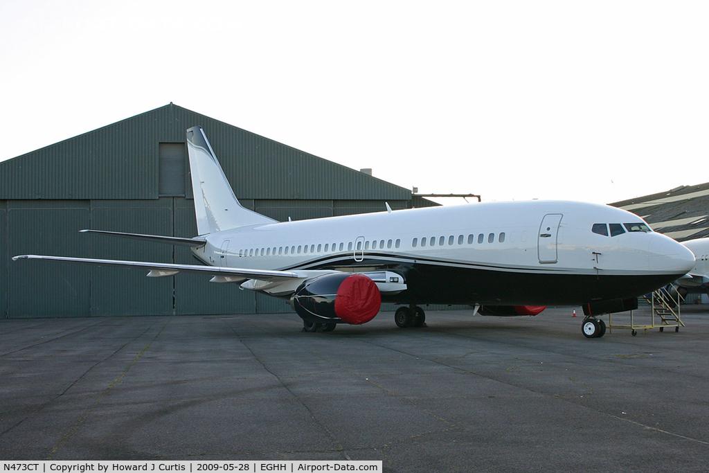 N473CT, 1987 Boeing 737-329 C/N 23774, Corporate.