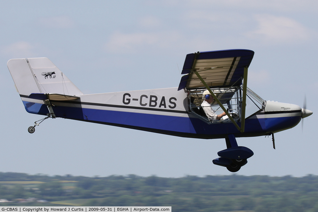 G-CBAS, 2001 Rans S-6ES Coyote II C/N PFA 204-13688, Privately owned.