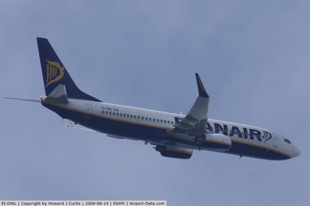 EI-DWL, 2007 Boeing 737-8AS C/N 33618, Ryanair