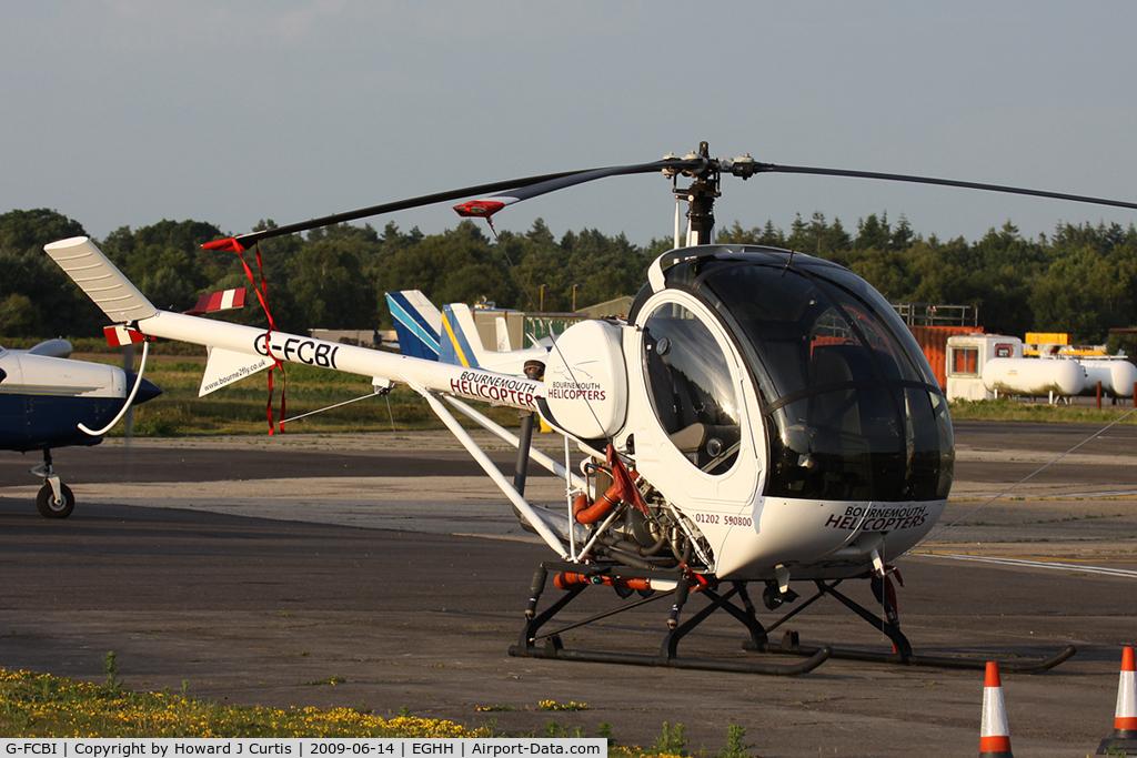 G-FCBI, 2007 Schweizer 269C-1 C/N 0296, Bournemouth Helicopters