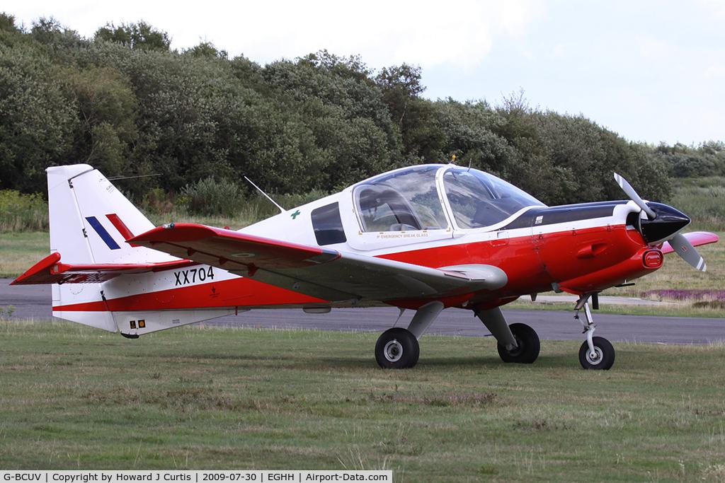 G-BCUV, 1975 Scottish Aviation Bulldog Series 120 Model 122 C/N BH120/376, Painted in false marks as 'XX704'.