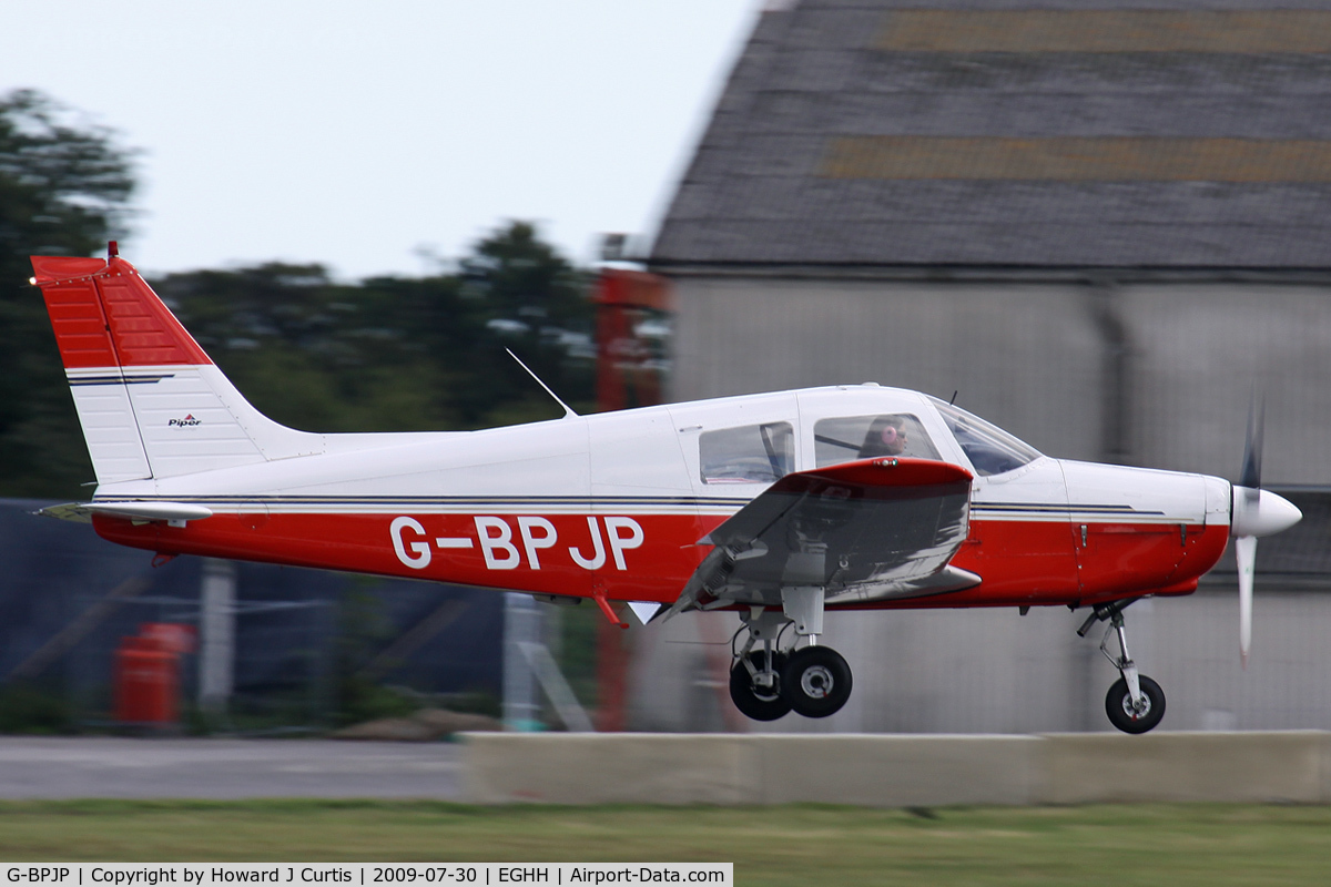 G-BPJP, 1988 Piper PA-28-161 Cadet C/N 2841015, Privately owned.